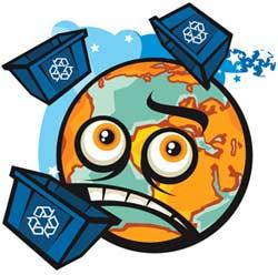 lixo no mundo